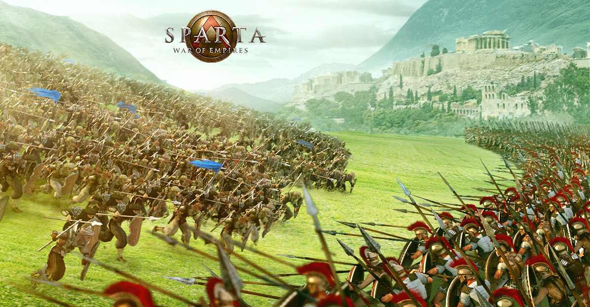 Sparta Schlachtfeld