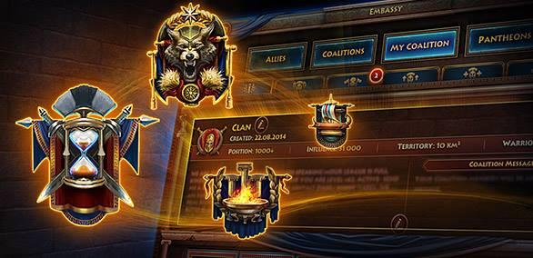 New Coalition Achievements!