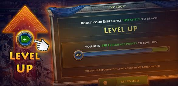 Get Experience Points With Just One Click