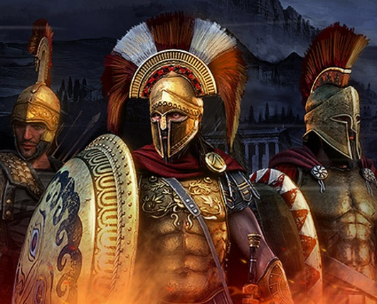 Schließe Bündnisse bei Sparta