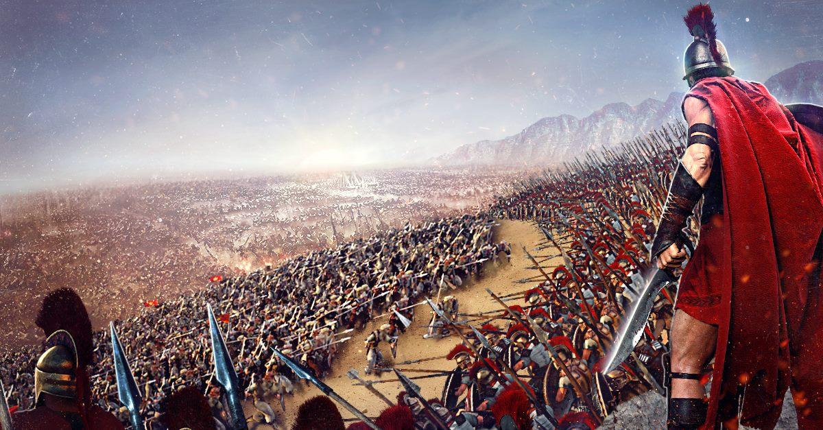 Sparta: War of Empires Schlachtfelder